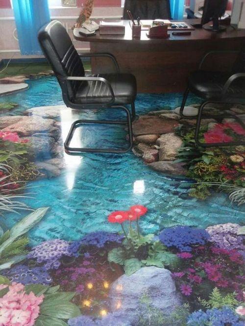 3D наливные полы – сказка у ваших ног