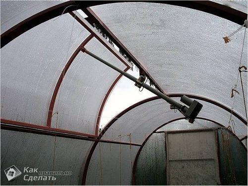 Автоматическое проветривание теплицы своими руками - как сделать вентиляцию в теплице