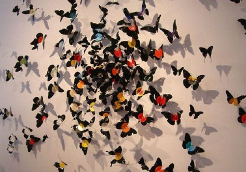 Бабочки на стену своими руками: 7 эксклюзивных идей