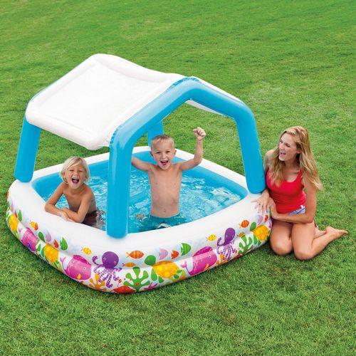 Бассейн для детей и купальные аксессуары: правила выбора