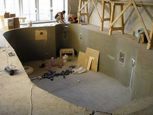 Бассейн на даче своими руками: ошибки, размещение, конструкция