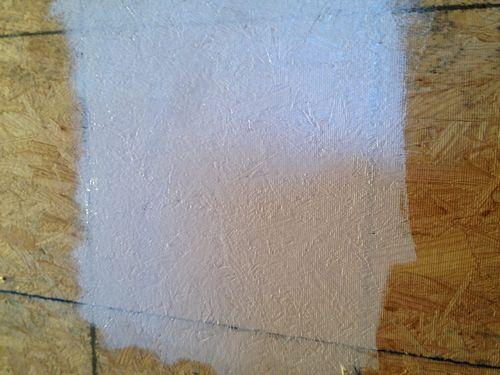 Чем отделать осб плиту - покраска и грунтовка потолка и стен