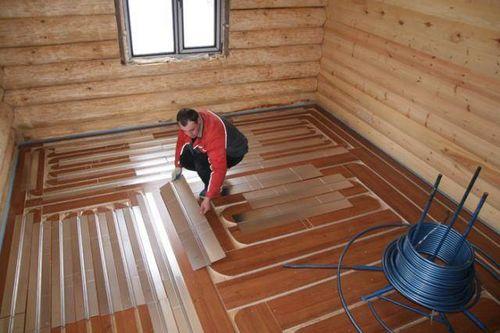 Чем утеплить полы в деревянном доме - полезные советы
