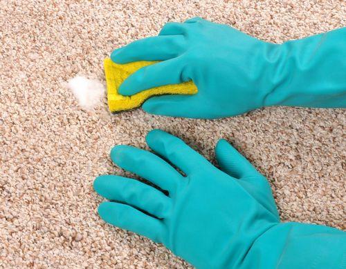 Чистка пятна на ковре: средства, народные методы, рекомендации