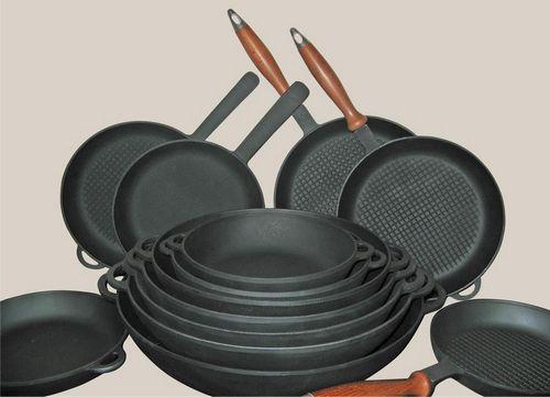 Чугунная сковорода гриль – выбор настоящих кулинаров!