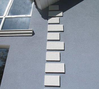 Декоративная фасадная штукатурка: технология отделки