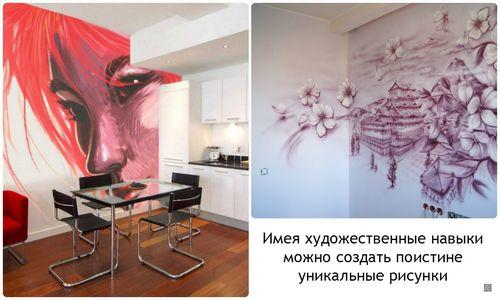 Декорирование стен: основные рекомендации и советы, как придать оригинальный вид, гармонично вписывающийся в общий дизайн интерьера
