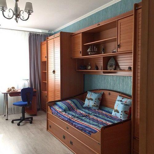 Детская спальня для мальчика: 15 фото идей