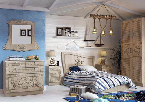 Детская в морском стиле: дизайн и планировка интерьера детской комнаты в морском стиле (100 фото) – Кошкин Дом