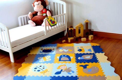 Детский ковер-пазл, функциональные особенности и критерии выбора
