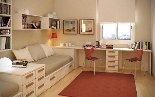 Дизайн детской комнаты для двоих детей: планировка детской комнаты для двоих разнополых детей, двойняшек или близнецов (100 фото) – Кошкин Дом
