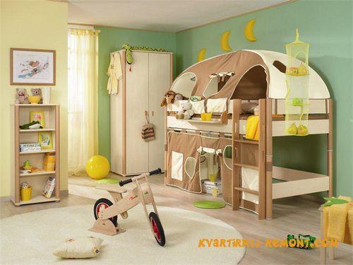 Дизайн детской комнаты для мальчика - фото и рекомендации