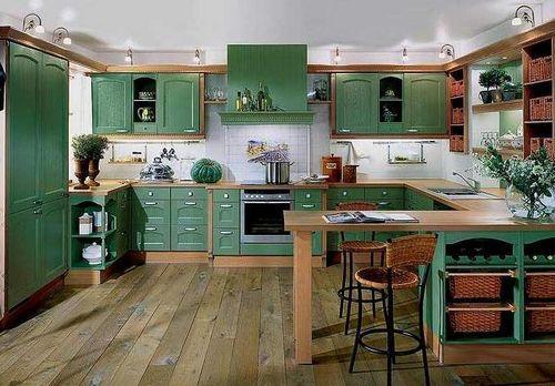 Дизайн кухни в частном доме: фотографии и выбор стиля