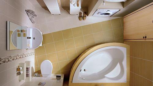 Дизайн малогабаритной ванной комнаты: фото идеи обустройства интерьера