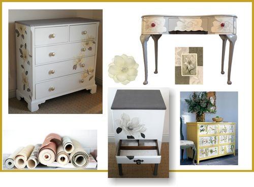 Дизайн мебели своими руками, техники состаривания мебели, примеры работ