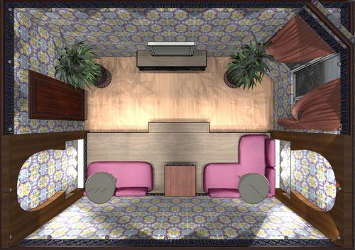 Дизайн проект гостиной комнаты в арабском стиле. Фото и рекомендации