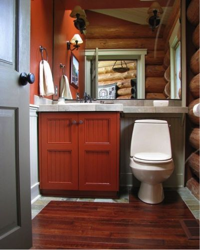 Дизайн туалета маленького размера: фото и пример интерьеров
