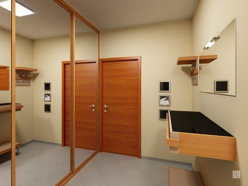 Дизайн узкого коридора: идеи грамотного оформления интерьера прихожей (фото)