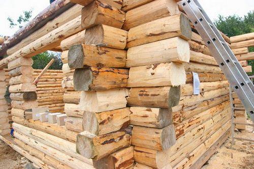 Дом из бруса своими руками: фото, видео строительства