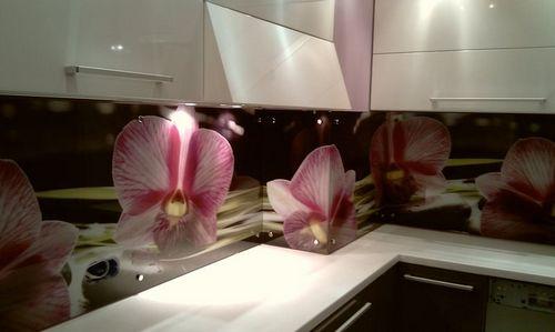 Где заказать качественный стеклянный фартук для кухни