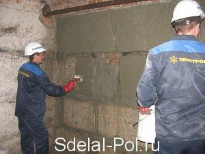 Гидроизоляция стен изнутри и снаружи помещения своими руками