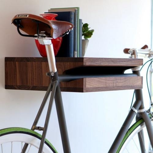 Хранение велосипеда в квартире: необычные решения