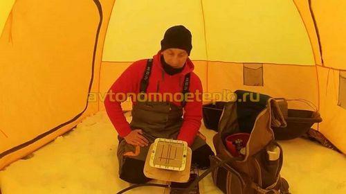 Инфракрасный обогреватель для палатки – как устроен, советы по эксплуатации