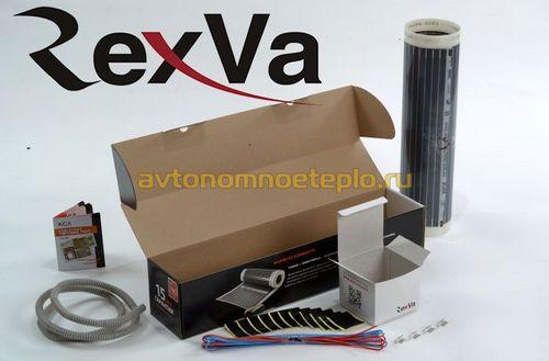 Инфракрасный пленочный теплый пол RexVa Xica из Южной Кореи