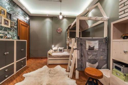 Интерьер детской комнаты для мальчика: идеи с фото