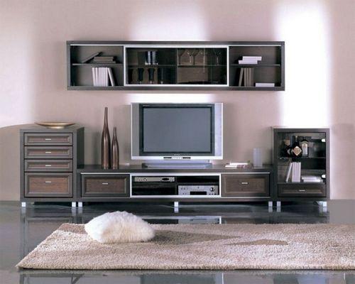Интерьер гостиной в стиле минимализм, в том числе дизайн зала в светло-бирюзовых тонах   фото