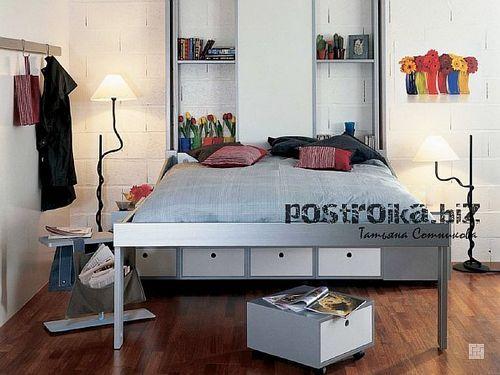 Интерьер спальни в хрущевке: фото в любом стиле