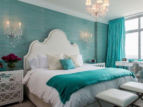 Интерьер в бирюзовых цветах: фото, идеи, дизайн, мебель, шторы