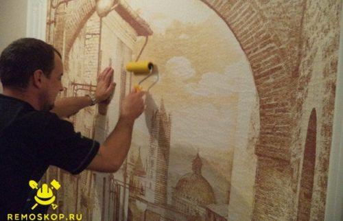 Изготовление фресок в прошлом и сегодня (7 фото и 4 видео)