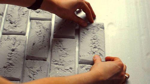 Изготовление плитки из гипса своими руками в домашних условиях