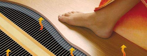 Электрический теплый пол под ламинат – схема монтажного процесса
