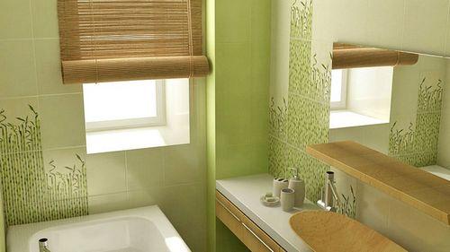Кафель для ванной комнаты: фото сочетание цветов