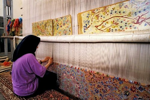 Как делают ковры вручную и на производстве, мастер-класс, правила ухода