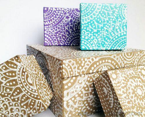 Как использовать декоративные коробки в интерьере: идеи, мастер-классы