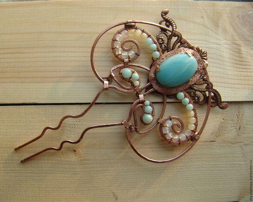 Как изготовить оригинальные украшения из проволоки?