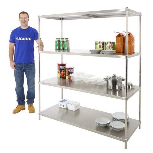 Как лучше всего выбирать металлические стеллажи для дома