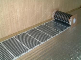 Как монтировать электрический теплый пол в доме