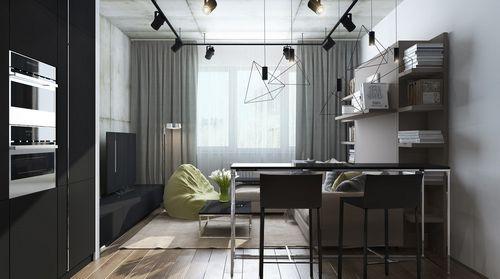 Как обустроить квартиру-студию 18 кв м, примеры квартир, видео