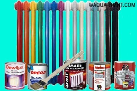 Как покрасить батарею отопления   какой краской лучше красить?