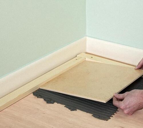 Как положить плитку на деревянный пол: как подготовить основание