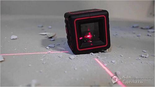 Как пользоваться лазерным уровнем - виды лазерных уровней