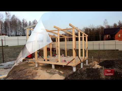 Как построить курятник на даче своими руками на летний период