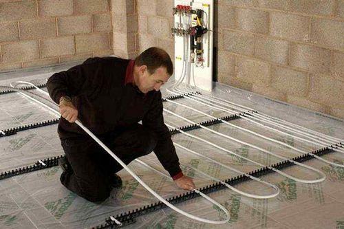 Как правильно сделать теплый пол: как установить, проложить водяной или электрический теплый пол, как прокладывать