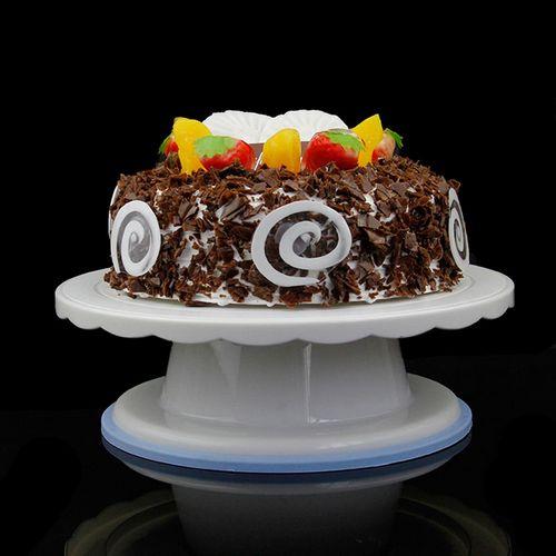 Как правильно выбрать вращающуюся подставку для торта?