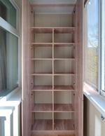 Как просто сделать удобный шкаф на балконе своими руками