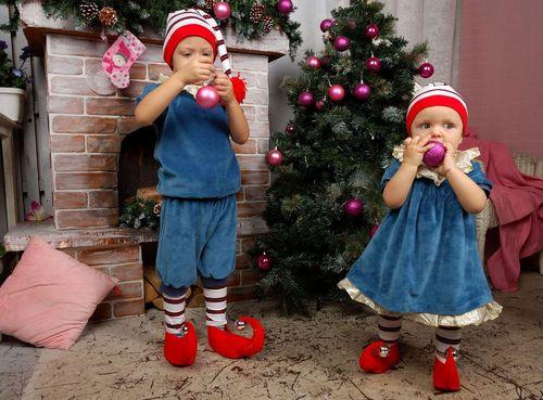 Как сделать детский новогодний костюм своими руками, примеры, видео